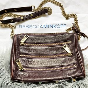 Rebecca Minkoff Purple Crossbody